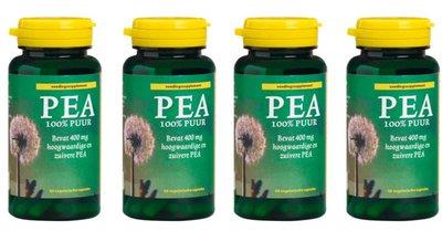 PEA capsules 4 pack