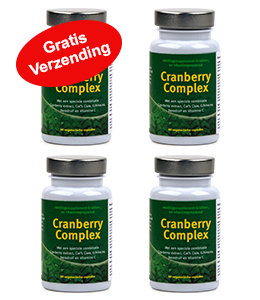 Cranberry Complex 4 pack